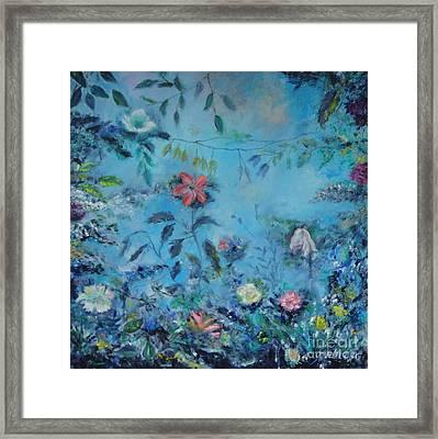 Cinderellas Garden Framed Print