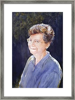 Cindy Framed Print