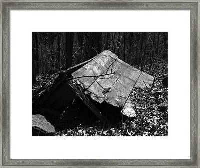 Cindy Outhouse Framed Print