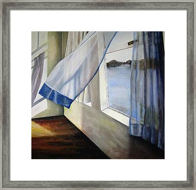 Cindy's Window Framed Print by Eileen Kasprick