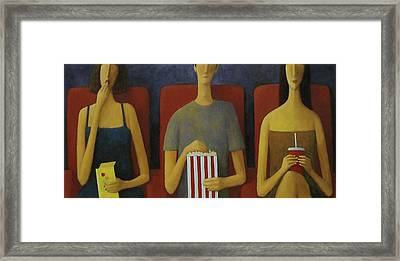 Cinema Framed Print by Glenn Quist