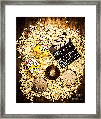 Cinema Of Entertainment Framed Print