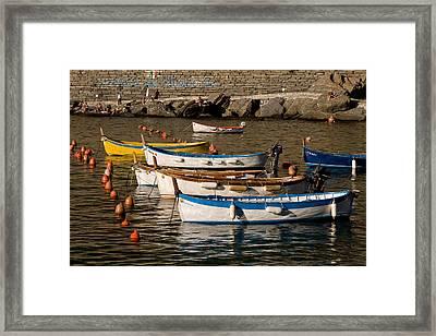 Cinque Terre  Framed Print by Carl Jackson