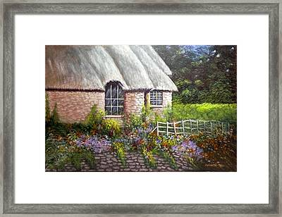 Ciotswold Framed Print by Annette Tan
