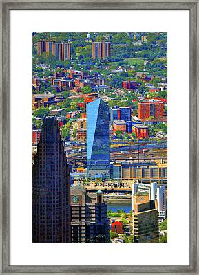 Cira Centre 2929 Arch Street Philadelphia Pennsylvania 19104 Framed Print by Duncan Pearson
