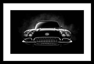 Garage Digital Art Framed Prints