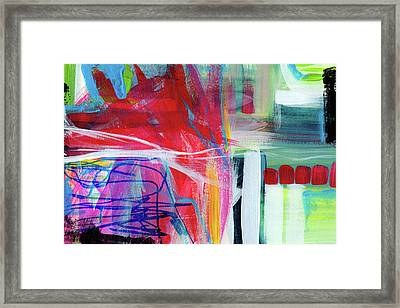 Circadian Rhythm 3- Abstract Art By Linda Woods Framed Print by Linda Woods