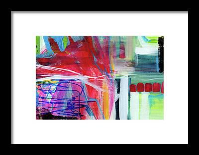 Scribble Framed Prints