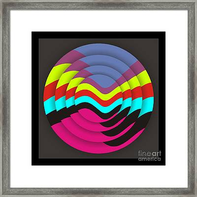 Circadium Framed Print by Walter Oliver Neal