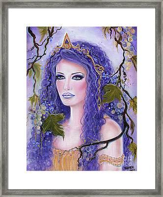 Circe Greek Goddess Framed Print