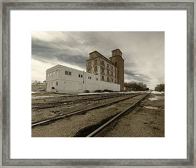 Circle B Feeds Concordia Kansas Framed Print
