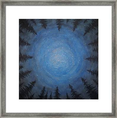 Circle Dance Framed Print