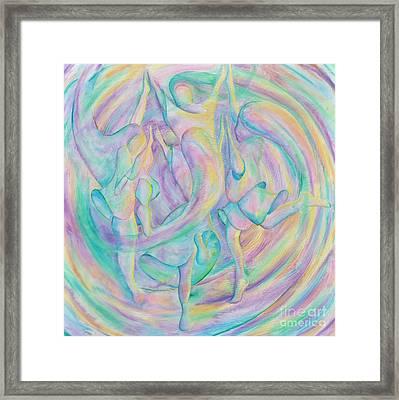 Circle Dance Framed Print