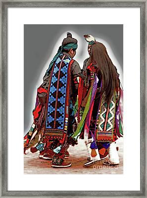 Circle Dance Framed Print by Linda Parker