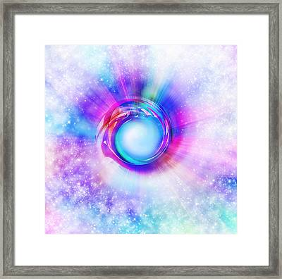 Circle Eye  Framed Print