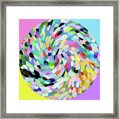 Circle II Framed Print by Roger Smith