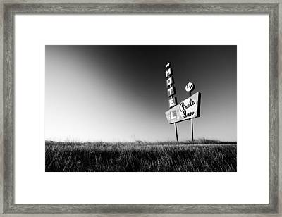 Circle Inn Framed Print