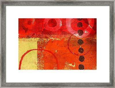 Circle Movement Framed Print by Nancy Merkle