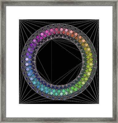 Circle Of Concinnity Framed Print