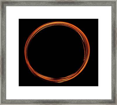 Circle Of Fire  Framed Print