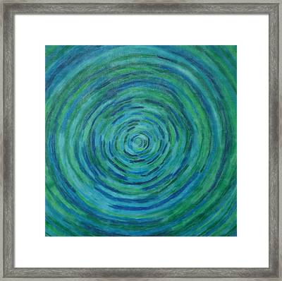 Circle Of Life Framed Print by Gregory Young