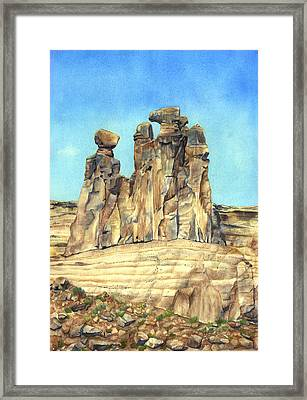 Circle Of Wise Women Framed Print by Gladys Folkers