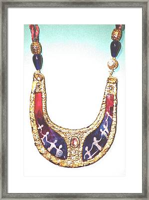 Framed Print featuring the jewelry Circle Of Women by Gertrude Palmer