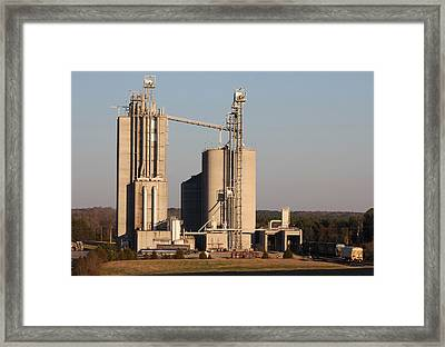 Circle S Feed Mill 2017 A Framed Print by Joseph C Hinson Photography