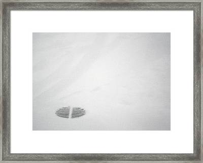 Framed Print featuring the photograph Circle Stripes by Kenneth Campbell