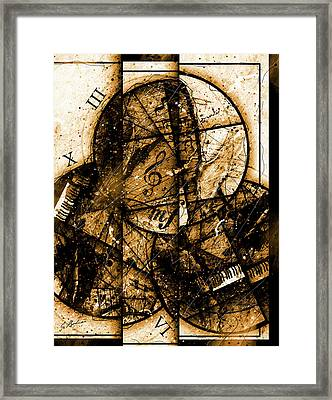 Circleladian Rhythms East Framed Print by Gary Bodnar