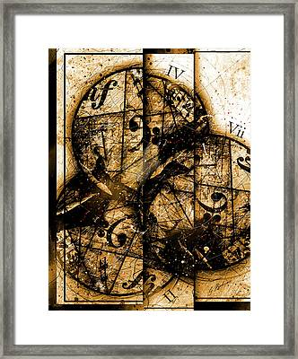 Circleladian Rhythms West Framed Print by Gary Bodnar