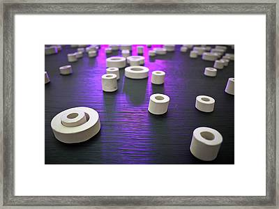 Framed Print featuring the photograph Circles Of Inspiration by Bobby Villapando