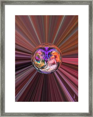 Circles Of Life Framed Print
