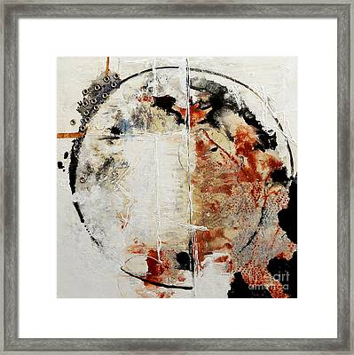 Circles Of War Framed Print by Gallery Messina
