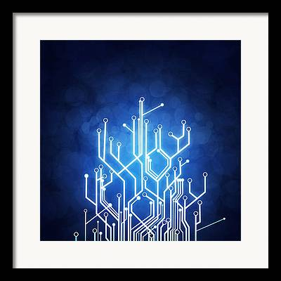 Circuit Framed Prints