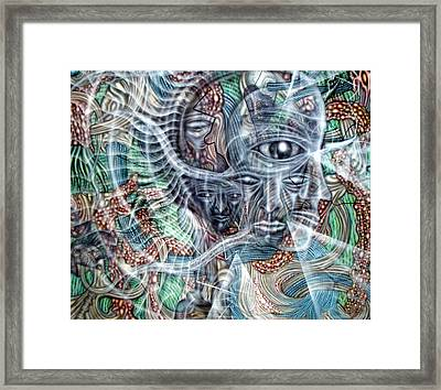 Circuitry II Framed Print by Leigh Odom