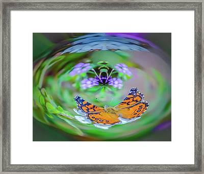 Circularity Framed Print