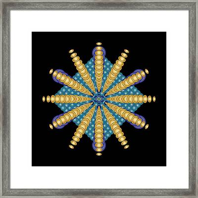 Circularity No 1570 Framed Print
