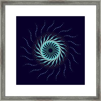 Circularity No 1587 Framed Print