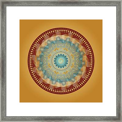 Circularity No 1640 Framed Print