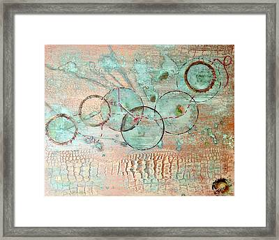 Threads Of Possibility Framed Print