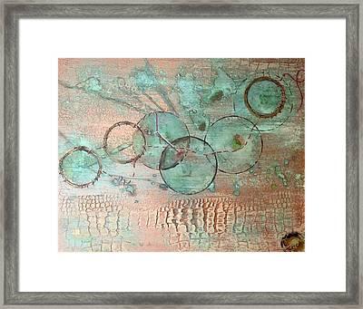 Circumnavigate Framed Print
