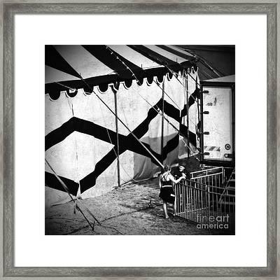 Circus Conversation Framed Print