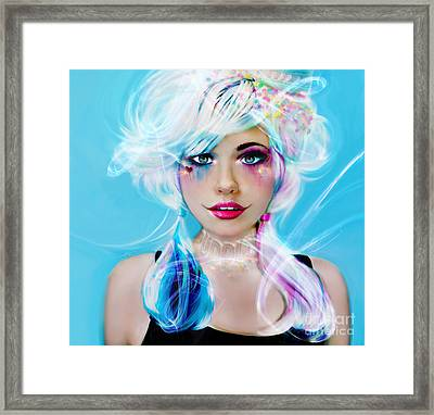 Circus Mind Framed Print