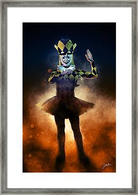 Circus Of Horrors - Doll Corpse Framed Print