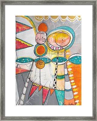 Circus One Framed Print