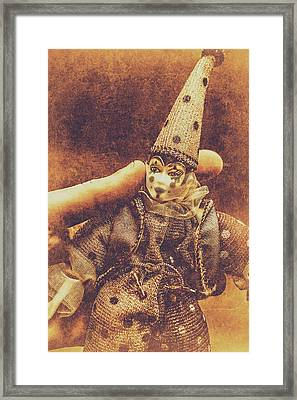 Circus Puppeteer  Framed Print by Jorgo Photography - Wall Art Gallery