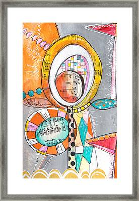 Circus Two Framed Print