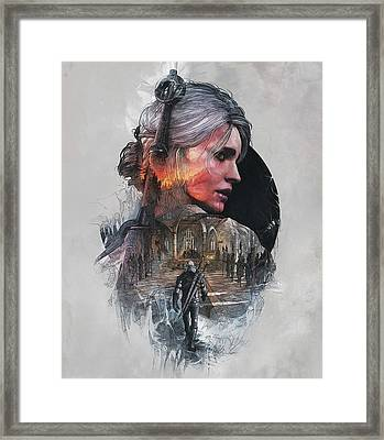 Ciri Framed Print by Lobito Caulimon