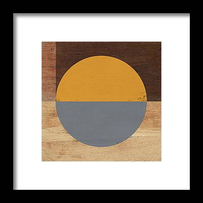 Retro Abstract Framed Prints